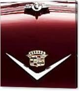 Cadillac Emblem And Hood Ornament Canvas Print