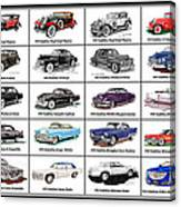 Cadillac La Salle Automotive Poster Canvas Print