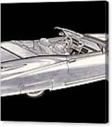 1963 64 Cadillac Roadster Concept Canvas Print