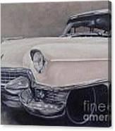 Cadillac Study Canvas Print