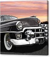 Cadillac Sunset Canvas Print