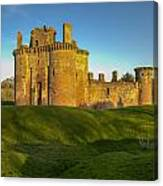 Caerlaverock Castle - 1 Canvas Print