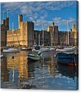 Caernarfon Castle Canvas Print