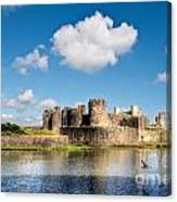 Caerphilly Castle 1 Canvas Print