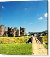 Caerphilly Castle 2 Canvas Print