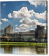 Caerphilly Castle 3 Canvas Print