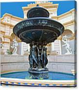 Caesars Fountain Canvas Print