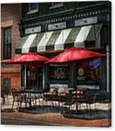 Cafe - Albany Ny - Mc Geary's Pub Canvas Print