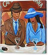 Cafe Americana Canvas Print