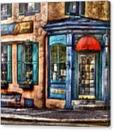 Cafe - Cafe America Canvas Print