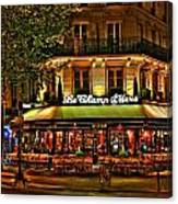 Cafe Le Champ Mars  Canvas Print