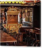 Cafe Chez Eugene - Montmartre Canvas Print