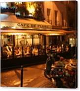 Cafe De Flore Canvas Print