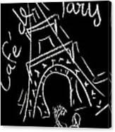 Cafe De Paris Canvas Print