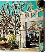 Cafe Diego Canvas Print