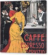 Cafe Espresso Canvas Print