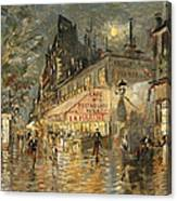 Cafe La Marin. Paris Canvas Print