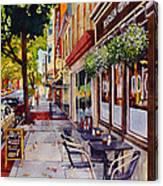 Cafe Nola Canvas Print