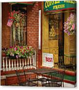 Cafe - The Best Ice Cream In Lancaster Canvas Print
