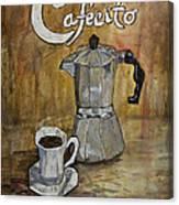 Cafecito Canvas Print