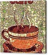 Caffe Canvas Print