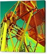 Caged Ferris Wheel Canvas Print