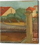 Cagnes-sur-mer Canvas Print