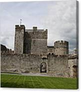 Cahir's Castle Second Courtyard Canvas Print