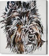 Cairn Terrier Martha Canvas Print