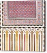 Cairo Decoration Of The El Bordeyny Canvas Print