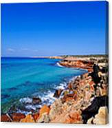 Cala Saona On Formentera Canvas Print