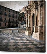 Calahorra Cathedral And Palace Canvas Print