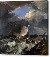Calais Pier Canvas Print
