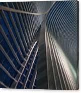 Calatrava Lines At The Blue Hour Canvas Print