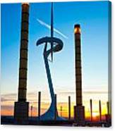 Calatrava Tower - Barcelona Canvas Print