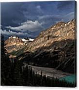 Caldron Peak  Canvas Print