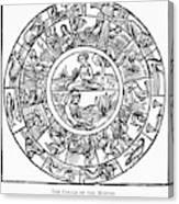 Calendar, 1503 Canvas Print