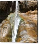 Calf Creek Falls 3 Canvas Print