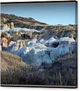 Calhan Paint Mines Landscape Canvas Print