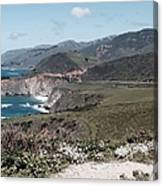 California Coastline Canvas Print