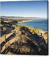 California Coastline From Point Dume Canvas Print
