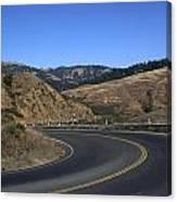 California Curve Canvas Print