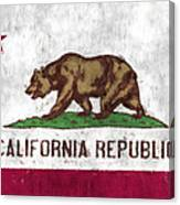 California Flag Canvas Print