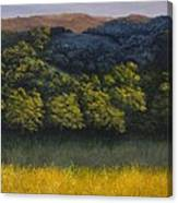 California Foothills Canvas Print