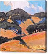 California Hills Canvas Print