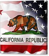 California Republic Within The United States Canvas Print