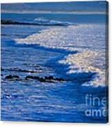 California Pismo Beach Waves Canvas Print