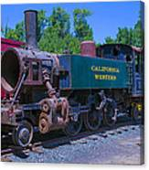 California Western Number 14 Canvas Print