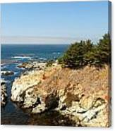 Californias Rocky Coastline Canvas Print