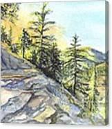 Californias Sierras Canvas Print